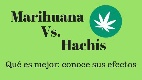 MarihuanaVs.Hachís